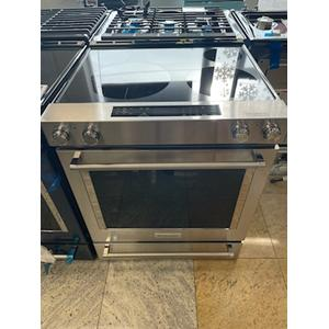 Scratch and Dent 30-Inch 5-Element Electric Slide-In Convection Range - Stainless Steel