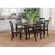 Cafe Dining Table & 6 Chairs