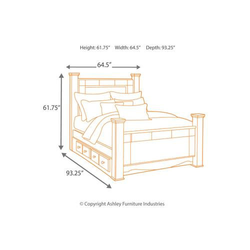B271 Queen Bed (Shay)