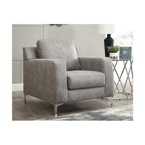 Ashley 402 Ryler Steel Sofa and Love