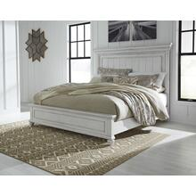 Kanwyn King Panel Bed Whitewash