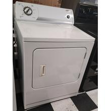 See Details - White-on-White Whirlpool® Super Capacity Electric Dryer