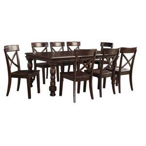Gerlane - Dark Brown 4 Piece Dining Room Set
