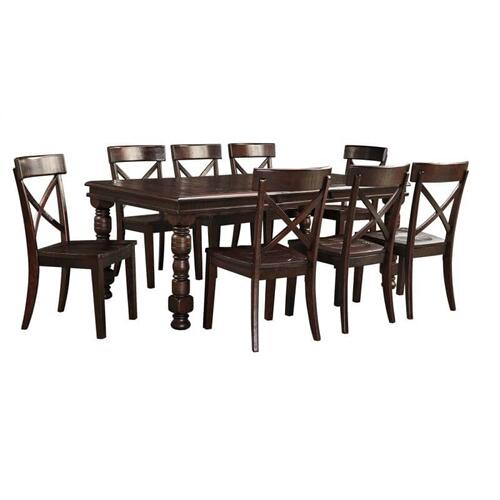 Product Image - Gerlane - Dark Brown 4 Piece Dining Room Set