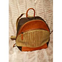 Punctured cork backpack with standard