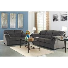 Kinlock- Charcoal Sofa and Loveseat
