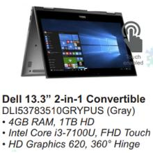 Dell 13.3 2-in-1 Convertible