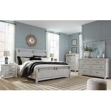 Brashland King Bed, Dresser,  Mirror and Nightstand