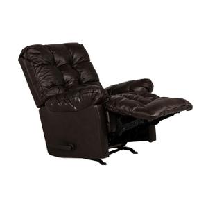 Best Home Furnishings - LEATHER Brosmer Rocker Recliner in Chocolate   9mw87-1Lu-71566-L,40060)