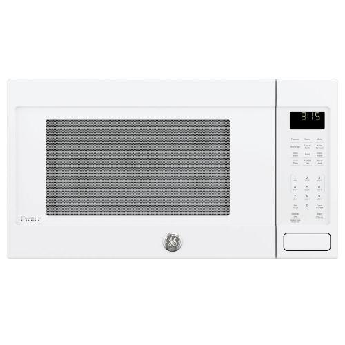 GE Profile 1.5CF White Countertop Convection Microwave