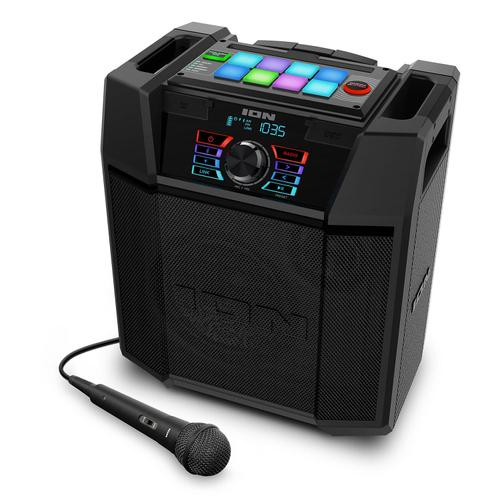 Ion - ION Explorer FX High-Power Bluetooth Speaker with Sound Effects