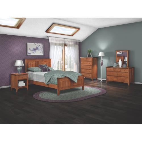 Briarwood- Marshfield Shaker Bed
