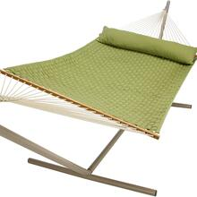 See Details - Soft Weave Hammock - Light Green