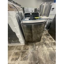 See Details - ***WEST LOCATION*** 4.8 cu. ft. Mega Capacity Smart wi-fi Enabled Top Load Washer with Agitator and TurboWash3D™ Technology ** DENT ON FRONT**
