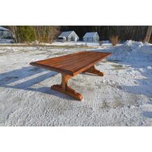 Barnwood Trestle Table