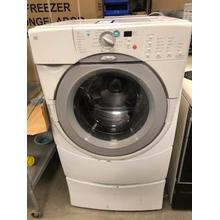 Used Whirlpool Duet Front Load Washer with Pedestal