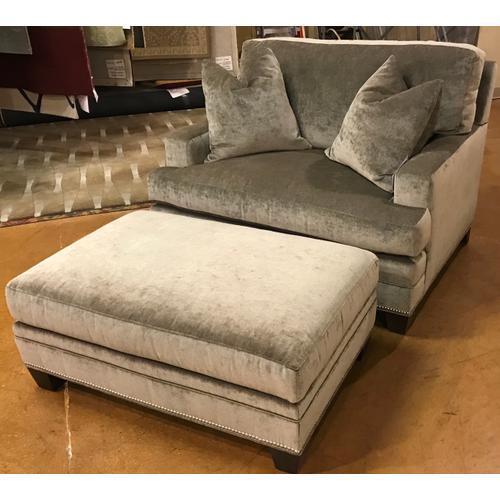 Chair 1/2 & ottoman