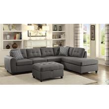 Stonenesse 2 Piece Sectional and Ottoman