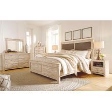 Willabry - Queen Panel Bed, Dresser, Mirror, 1 x Nightstand