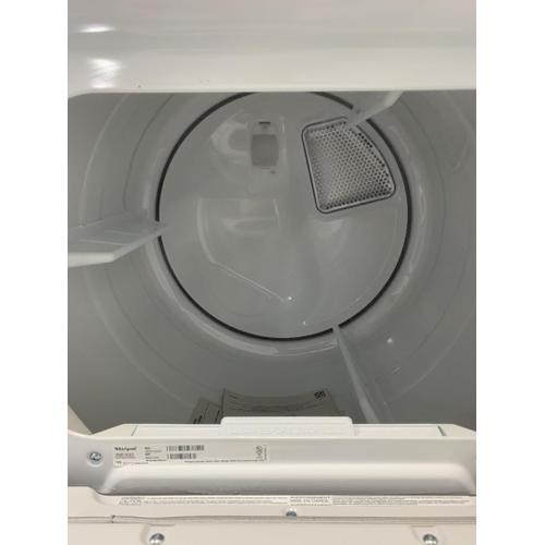 Whirlpool - 7.4 cu. ft. Top Load Electric Dryer with Intuitive Controls