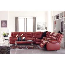 79306-77/88/94  Sectional - Vacherie Red or Vacherie Chocolate
