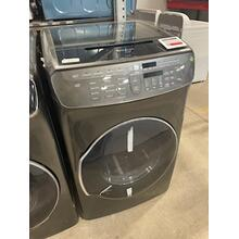 Scratch and Dent 7.5 cu. ft. Smart Electric Dryer with FlexDry™ in Black Stainless Steel