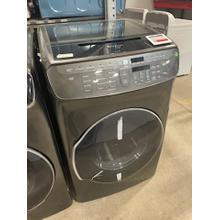 See Details - Scratch and Dent 7.5 cu. ft. Smart Electric Dryer with FlexDry™ in Black Stainless Steel