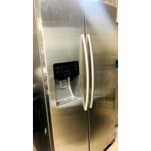 Product Image - USED- 25 cu. ft. Side-by-Side Refrigerator with In-Door Ice Maker in Stainless Steel- SXS36SS-U  SERIAL #32