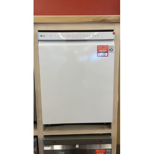 Treviño Appliance - LG White Front Control Dishwasher