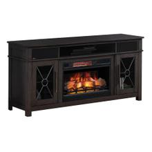 Classic Flame Tifton Oak Media Mantle Fireplace