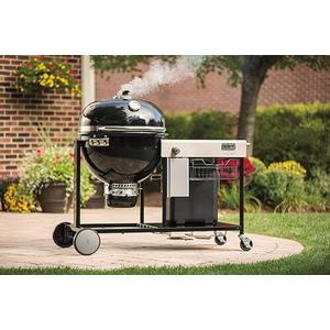 Summit Charcoal Grill Center Black