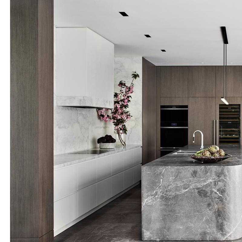 "30"" Designer Wine Storage with Refrigerator Drawers - Panel Ready"