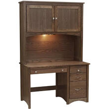 "49"" Desk with Hutch"