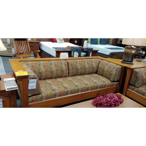 Mission Sofa & Chair & 1/2