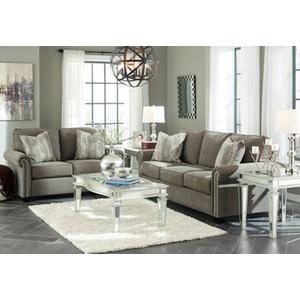 Gilman- Charcoal Sofa and Loveseat