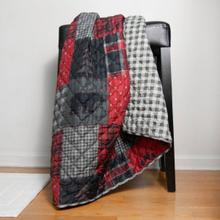 See Details - Red Forest Throw