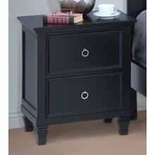 Tamarack Black Nightstand