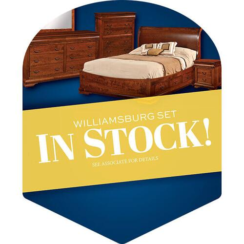 Amish Craftsman - Williamsburg Bedroom Collection - In Stock