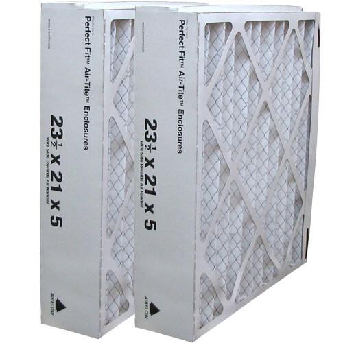 "23.5"" x 21.5"" x 5"" Perfect Fit Pleated Media Filter"