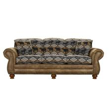 See Details - Sofa (Two Tone with Brass Tacks)