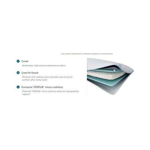 Tempur-Pedic - TEMPUR-Adapt Pro + Cooling Pillow - Lo
