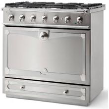 Stainless Steel Albertine 90 with Satin Chrome Accents