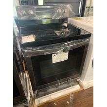 5.9 cu. ft. Freestanding Electric Range with Air Fry and Convection in Black Stainless Steel**OPEN BOX ITEM** Ankeny Location