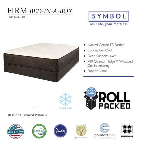 Symbol Mattress - Firm Bed In A Box