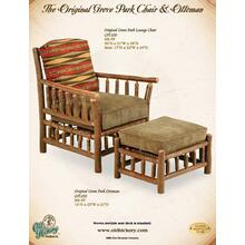 The Original Grove Park Chair and Ottoman