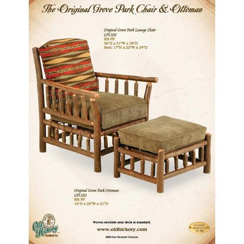 The Original Grove Park Chair and Ottoman