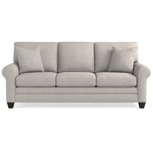 Bassett Furniture - Premium Collection - Carolina Sock Arm Queen Sleeper Sofa