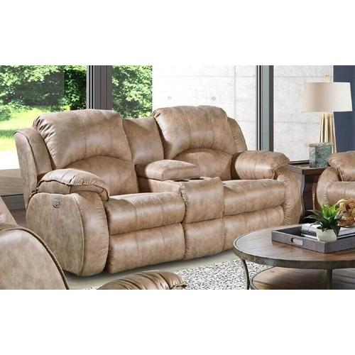 SOUTHERN MOTION 705-61P-173-16, 705-78P-173-16, 2175P-173-16 Cagney Power Double Reclining Sofa, Power Reclining Console Loveseat And Power Wall Recliner Group