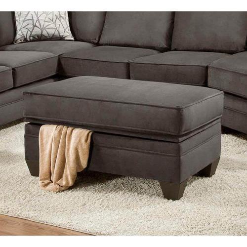 American Furniture Manufacturing - Flannel Seal Storage Ottoman