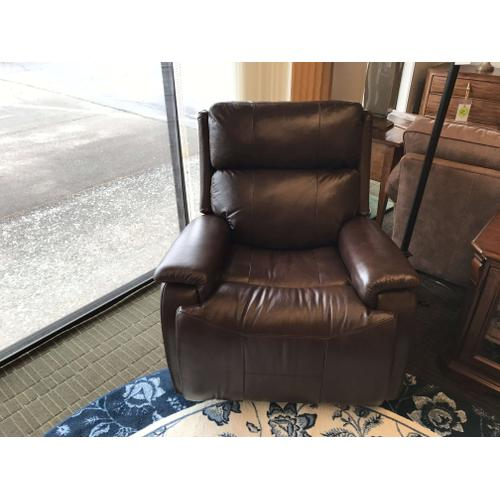 Gallery - Wheaton Power Gliding Recliner with Power Headrest